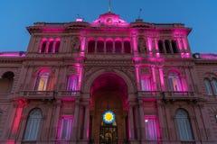 Каса Rosada (розовый дом) Стоковое Изображение