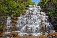каскадируя падения hector водопад стоковое изображение rf