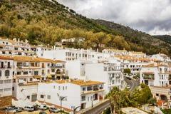 Каскад в Mijas, Испании стоковое фото
