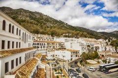 Каскад в Mijas, Испании стоковая фотография rf