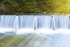 Каскад водопада Стоковое Изображение