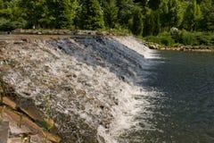 Каскад воды Стоковая Фотография RF