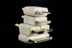 Каскадированные штепсельные вилки конвертера Стоковое Изображение RF