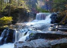 Каскадируя водопад осени Стоковая Фотография RF