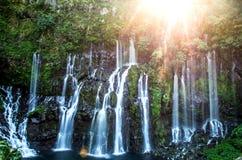 Каскад Langevin - Ile de Ла Réunion Стоковые Изображения RF