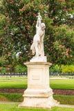 ` Кассандра скульптуры под защитой ` Pallas Парк Tuileries paris Стоковые Фото