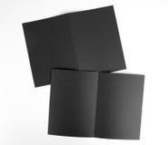 Кассета, буклет, открытка, визитная карточка или te модель-макета брошюры Стоковое Изображение RF