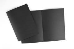 Кассета, буклет, открытка, визитная карточка или te модель-макета брошюры Стоковые Фотографии RF