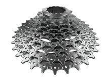 Кассета велосипеда в 3D Стоковые Изображения