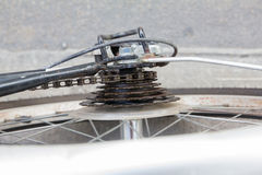 Кассета велосипеда Стоковое Фото