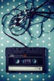 Кассета ленты звукозаписи стоковое изображение rf