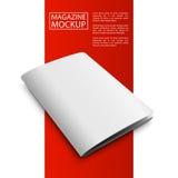 Кассета красное line2-01 модель-макета Стоковая Фотография