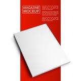 Кассета красное line7-01 модель-макета Стоковая Фотография