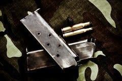 кассета пуль Стоковая Фотография
