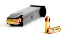 кассета пушки пули Стоковое Изображение