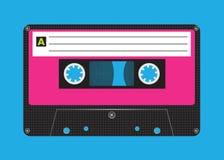 кассета ретро Стоковое Изображение
