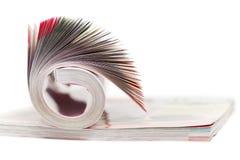 Кассета цвета на белизне Стоковые Фотографии RF