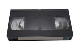 Кассета VHS изолированная на белой предпосылке Стоковые Изображения