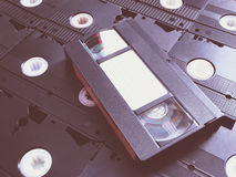 Кассетный видеомагнитофон стоковое изображение