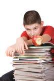 кассеты мальчика Стоковая Фотография