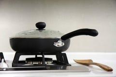 кастрюлька hob газа Стоковые Фото