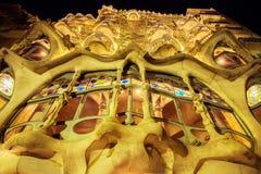 Касы Испания batllo barcelona Стоковая Фотография