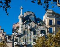 Касы Испания batllo barcelona Стоковое Изображение