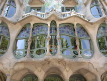 Касы Batllo Барселона Стоковое Фото