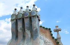 Касы Batllo Барселона Стоковые Изображения