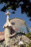 Касы batllo barcelona Стоковая Фотография RF