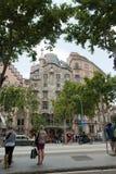 Касы Battlo Antoni Gaudi Барселона Стоковая Фотография
