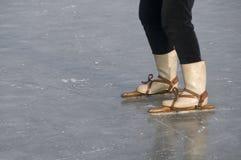 катает на коньках деревянно Стоковое Изображение