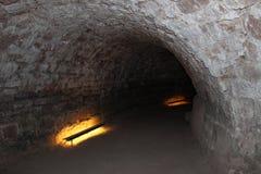 Катакомбы в Saarbrucken Стоковое Фото