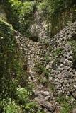 Катакомбы около монастыря Aladzha bulbed стоковые изображения