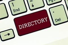 Каталог текста почерка Книга или вебсайт смысла концепции перечисляя клавиатуру организаций индивидуалов алфавитно бесплатная иллюстрация