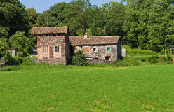 каталонский ландшафт сельская Испания типичная Стоковое Фото