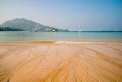 Катамараны на море Andaman, Пхукете стоковое фото