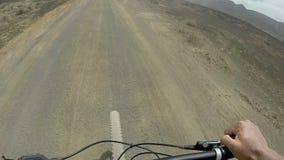 Катание велосипеда на graciosa Ла акции видеоматериалы