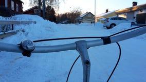 Катание велосипеда стоковое фото rf
