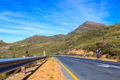 Катание велосипедиста на дороге R46 Стоковые Изображения RF