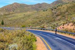 Катание велосипедиста на дороге R46 Стоковое Фото