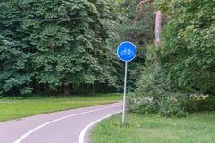 Катание велосипеда Стоковые Фото
