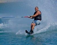 катание на водных лыжах конкуренции Стоковое Изображение