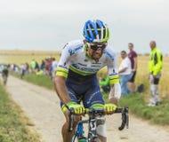 Катание на дороге булыжника - Тур-де-Франс 2 Майкл Matthews Стоковое Фото