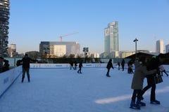 Катание на коньках Стоковые Фотографии RF