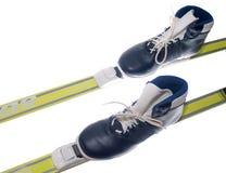 катание на лыжах оборудования Стоковое Изображение RF