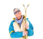 катание на лыжах потехи Стоковая Фотография