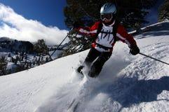 катание на лыжах Стоковое фото RF