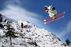 катание на лыжах Стоковое Фото