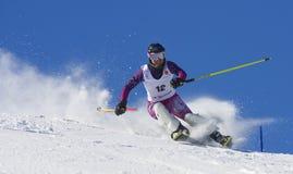 катание на лыжах jahorina чемпионата Стоковая Фотография